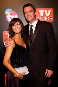 Neil Flynn and Guest at the after party of TV Guide and Inside TV 2005 Emmy.