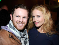 Johnny Patterson and Siobhan Flynn at the UK Film Reception during the Sundance Film Festival.