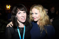 Tara Halloran and Siobhan Flynn at the UK Film Reception during the Sundance Film Festival.