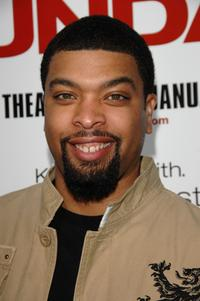 DeRay Davis at the world premiere of