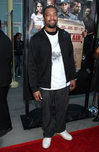 DeRay Davis at the screening of