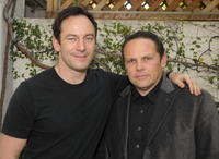 Jason Isaacs and Kevin Chapman at the 2008 World Experience DPA gift lounge.