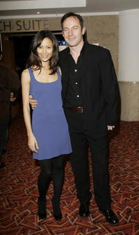 Jason Isaacs and Thandie Newton at the Sony Ericsson Empire Film Awards 2006.
