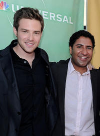 Ben Rappaport and Parvesh Cheena at the 2010 TCA Summer party in California.
