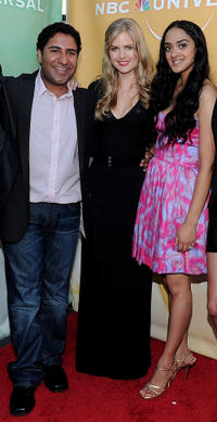 Parvesh Cheena, Pippa Black and Anisha Nagarajan at the 2010 TCA Summer party in California.