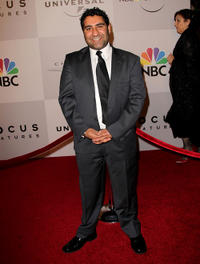 Parvesh Cheena at the after party of 68th Annual Golden Globes in California.
