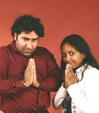 Parvesh Cheena and Sarba Das at the AFI FEST 2006.