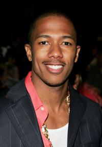 Nick Cannon at the Heatherette Spring 2007 fashion show during Olympus Fashion Week.