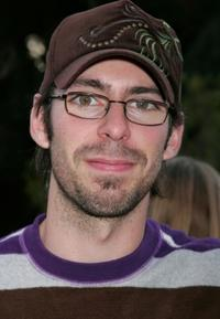 Martin Starr at the party of Paul Feig's sci-fi novel Ignatius MacFarland: Frequenaut.