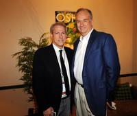 John Hamlin and Bill O'Reilly at the 2009 CMT Music Awards.