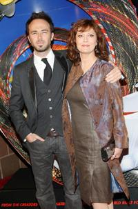 Kick Gurry and Susan Sarandon at the premiere of