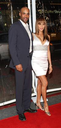 Boris Kodjoe and Nicole Ari Parker at the premiere of
