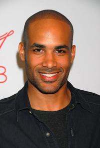 Boris Kodjoe at the Will and Jada Smith party honoring Grammy nominee Mary J. Blige.