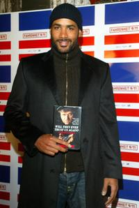 Boris Kodjoe at the Words and Music in Honor of Fahrenheit 9 / 11.