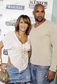 Nicole Parker and Boris Kodjoe at the premiere of
