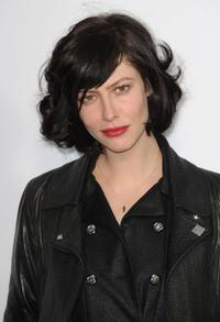 Anna Mouglalis at the Chanel Ready-to-Wear A/W 2009 fashion show during the Paris Fashion Week.