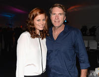 Cassidy Freeman and Robert Taylor at the A and E Networks 2013 Upfront in New York.