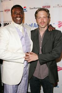Keith David and Austin Lysy at the after party of the opening of
