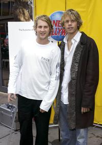 Eric Christian Olsen and Derek Richardson at the Z100
