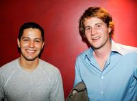 Jay Hernandez and Derek Richardson at the screening of