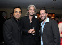 Paulo Andres, producer James Scura and Geoffrey Wigdor at the