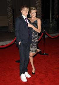 Jesse McCartney and Katie Cassidy at the 2006 American Music Awards.
