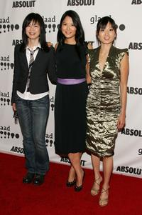 Alice Wu, Lynn Chen and Michelle Krusiec at the 17th Annual GLAAD Media Awards.