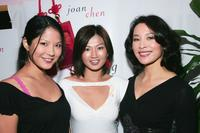 Lynn Chen, Michelle Krusiec and Joan Chen at the
