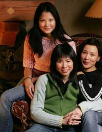 Lynn Chen, Director Alice Wu and Joan Chen at the 2005 Sundance Film Festival.