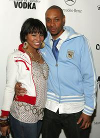 Melenie Smith and Dorian Missick at the Complex Magazine's 4th Anniversary.