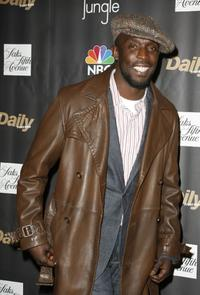 Michael Kenneth Williams at the premiere of