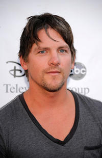 Zachary Knighton at the Disney-ABC Television Group Summer Press Tour party in California.