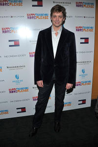 Chris Henry Coffey at the New York premiere of