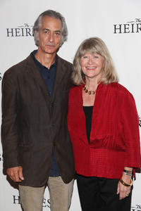 David Strathairn and Judith Ivey at the Broadway photocall of
