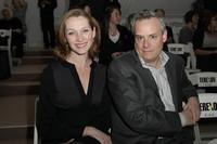 Kate Jennings Grant and Director Doug Hughes at the Terexov Fall 2009 show during the Mercedes-Benz Fashion Week.