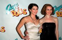 Lauren Graham and Kate Jennings Grant at the opening night party of