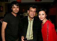 Debargo Sanyal, Bedabrata Pain and Angel Desai at the after party of the US premiere of