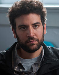 Director Josh Radnor on the set of