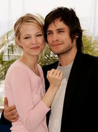 Pell James and Gael Garcia Bernal at the photocall to promote