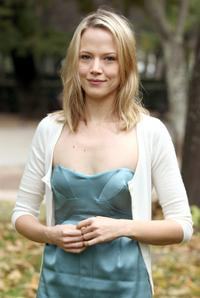 Pell James at the photocall to promote