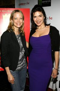 Pell James and Laura Harring at the after party of the premiere of