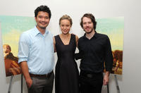 Destin Daniel Cretton, Brie Larson and John Gallagher, Jr. at the New York Special Screening of