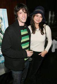 Will Janowitz and Oksana Lada at the special screening of