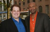 Jordan Gelber and Executive Producer Nelson George at the premiere screening of