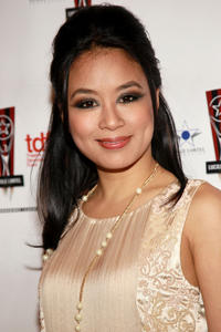 T.V. Carpio at the 26th Annual Lucille Lortel Awards in New York.