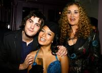 Jim Sturgess, T.V. Carpio and Dana Fuchs at the after party of the special screening of