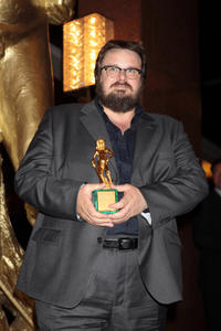 Giuseppe Battiston at the 2011 Premi David di Donatello Italian Academy Awards.