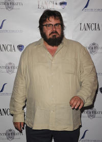 Giuseppe Battiston at the Cocktail party of Lancia Cafe 2011 Nastri d'Argento Awards.