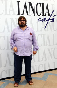 Giuseppe Battiston at the Lancia Cafe during the 68th Venice Film Festival.