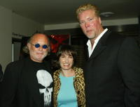 Producer Avi Arad, producer Gale Anne Hurd and Kevin Nash at the Los Angeles premiere of